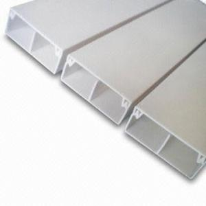 Segregated Cable trunking 25mm x 50mm PVC ducting
