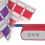 Multi coloured cable labels for Data Networks